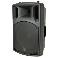 "QTX QX15A 500W Powered Active DJ Band 15"" PA Speaker or Monitor + 2Ch Mixer + FX"