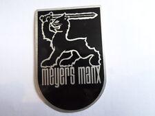 Typenschild Id-plate Schild Meyers manx buggy s29