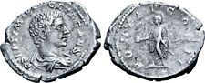 Geta, as Caesar, AR Denarius.