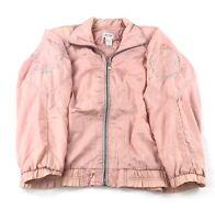 Vintage 80s 90s Lavon Tracksuit Track Jacket Women's Small Pink Windbreaker