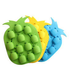 1x Pineapple Shape Ice Maker Mould Bar Party Drink Ice Tray Ice Cube Freeze Mold