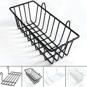 Home Wall Storage Rack Hanging Basket Shelf Holder Display Organizer-Decor