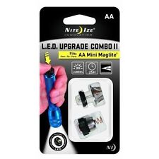 Nite Ize LED Combo Upgrade Kit Pure White Focusable Light Fits AA Mini MagLite