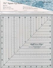 """9 1/2"""" Square Up Ruler ~  Quilt In A Day"""