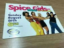 More details for the spice girls wild in concert promo usa postcard 1998 victoria beckham geri