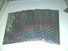5X HOLOGRAPHIC SILVER PAPER 30X21 CM/1 SIDE/ BUY MORE AND GET DISCOUNT NEW