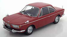 KK SCALE MODELS 1965 BMW 2000 CS Coupe Dark Red  LE of 1000 1/18 New! In Stock!