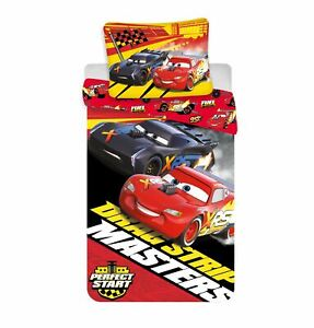Disney Cars Masters Duvet Cover Set 100% Cotton