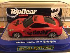 Scalextric TOP GEAR NISSAN GT-R (C3070) in scatola Nuovo di zecca molto raro auto