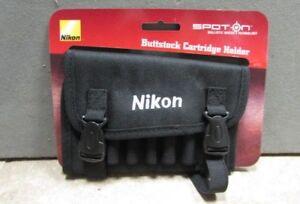 Nikon Spot On Riflestock Ammunition Holder Nylon Black #792 BRAND NEW Buy it Now