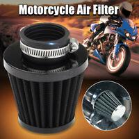 Universal Sportluftfilter Schwarz 35-60mm für Motorrad Quad ATV Roller  1!