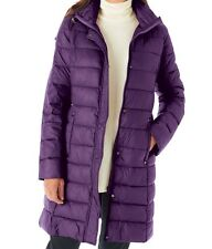 Prince Purple Grape Women's Puffer Coat Hooded Hoodie Size Large