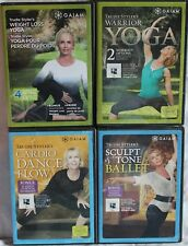 4 Trudie Styler Gaiam workout exercise fitness DVD weight loss yoga ballet dance