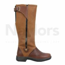 Womens Dublin Wye Brown Country Boots RRP £179.99