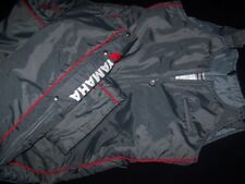 Yamaha 1988 Vintage Snowmobile Pants Bib 1980s Skidoo Winter Parka Grey Red XXL