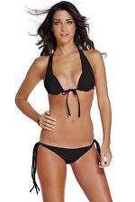 Costume Da Bagno Aperto Bikini Strappy string slim sling Swimwear Swimsuit M