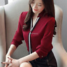Fashion Women V Neck Long Sleeve Chiffon Shirt Office Career Business Blouse Top