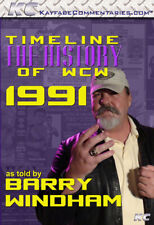 Official Timeline : The History of WCW 1991 :Barry Windham Interview DVD