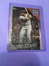 2019 Topps 150 Years Greatest Seasons Willie McCovey No 150-143