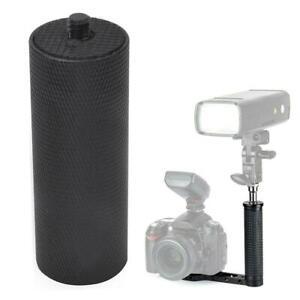 Black Metal Handle Hand Grip For Camera SLR DSLR Stabilizer LED Flash light GRS