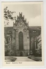AK Stendal, Domkirche, Portal, 1955