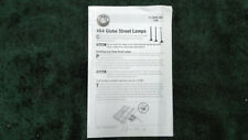 LIONEL 6-12926 # 64 GLOBE STREET LIGHTS INSTRUCTIONS 71-2926-250 PHOTOCOPY