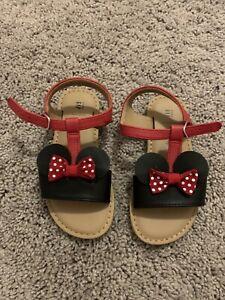 Baby Gap Disney Minnie Mouse Sandal Size 9