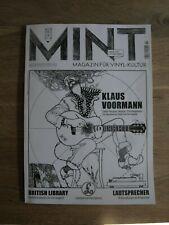 Mint Magazin für Vinyl-Kultur 02/19 Klaus Voormann Beatles British library LP