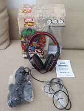 CUFFIE  della MARVEL come nuove per PS3 XBOX 360 e PC ! Stereo Gaming Headphones