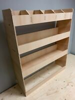 Van Racking, Ford Transit Custom SWB Plywood Tool Storage Rack Ply Shelving Unit