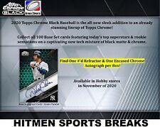 PITTSBURGH PIRATES 2020 Topps Chrome Black Baseball 12 BOX CASE BREAK # 2