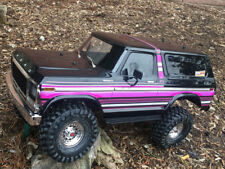 ultradecal Traxxas trx-4 BRONCO peau corps ENVELOPPE ROSE VIOLET lignes
