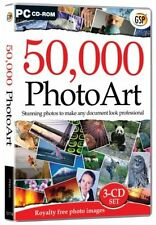 GSP 50,000 PhotoArt (PC) New Unopened Mint Condition 3-CD Set