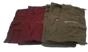 """BRUNO MAGLI 10 Storage Dust Bags Shoe Covers (7"""" x 15"""") 4 Pair + 2 Singles"""