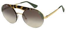 Prada Sunglasses Pr 52US размер 60A7 37 серебро/Гавана рама   серые градиентные линзы
