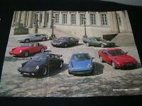 Prospekt / Broschüre Porsche  - 924 S, 924 Turbo, 911 SC, 911 Turbo, 928 S