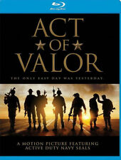 PRE  ORDER: ACT OF VALOR - BLU RAY - Region A