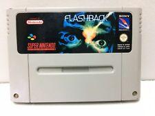 Flashback Nintendo Super NES SNES Pal Loose