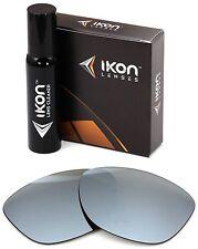 Polarized IKON Iridium Replacement Lenses For Oakley Jupiter LX Silver Mirror