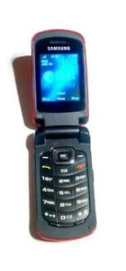 Samsung  SCH-R250  Alltel Red Cellular Flip Phone Super Fast Shipping