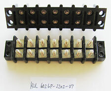 1x Kulka Marathon 602 GP2202 07, 7 Position, Double Row, 300V 30A Terminal Block