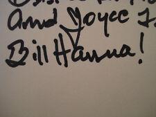 ORIGINAL **BILL HANNA AUTOGRAPH** BOOK **A CAST OF FRIENDS** COA