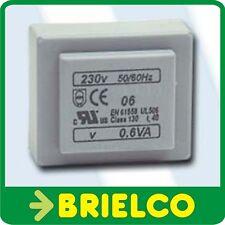 TRANSFORMADOR ALIMENTACION ENCAPSULADO 0.6VA ENTRADA 220V AC SALIDA 9V AC BD7664