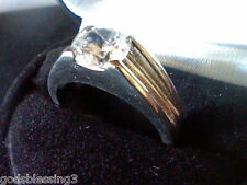 MENS OR WOMENS 2CT LCS DIAMOND ENGAGEMENT WEDDING BAND RING SZ 7 + GIFT