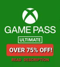 XBOX game pass ULTIMATE + GOLD - 3 Months (READ DESCRIPTION)