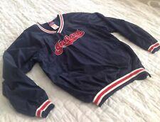 Cleveland Indians MLB Majestic Warm-up Jacket Size 18/20