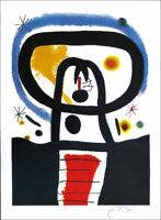 Joan MIRO Equinox Limited Edition P/Signed Lithograph 34 x 26