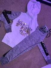 victoria's secret PINK limited edition bling outfit size xs