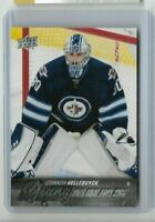 2015-16 Upper Deck Young Guns card #214 - Connor Hellebuyck - Jets - NM/MINT