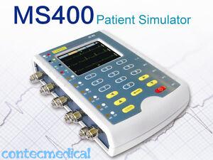 USA MS400 Patient Simulator ECG IBP TEMP Simulation Patient Monitor Calibration